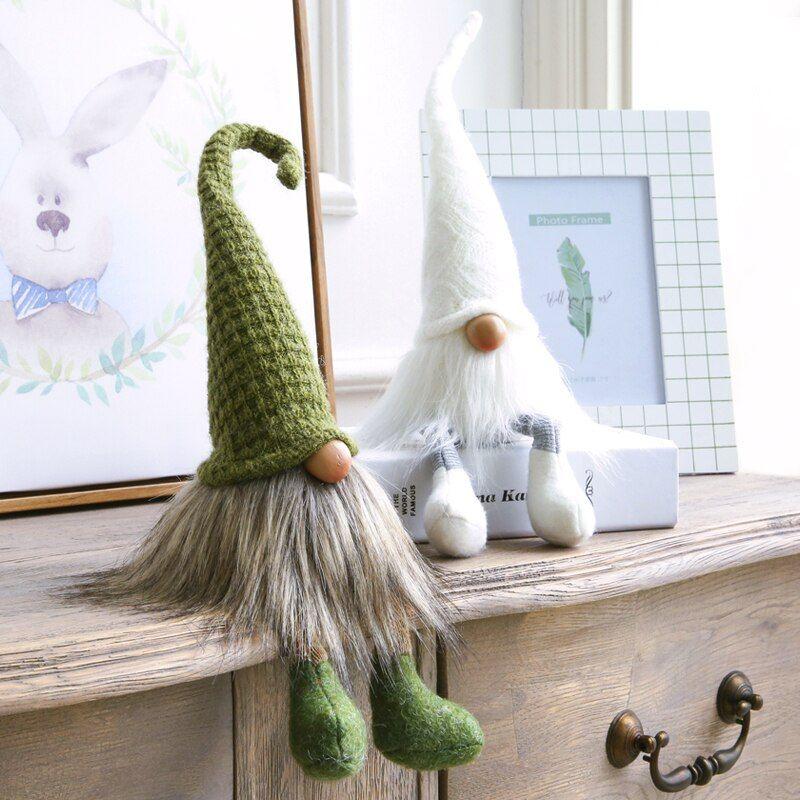 Miz 1 Piece Wizard Doll Fairy Figures Dwarf Gift for Children Desk Accessory Home Decoration Handmade Craft #dollcare