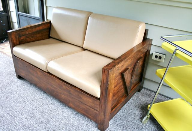 This Craigslist Find Turned Sophisticated With Brushed Wiped Dark Stain