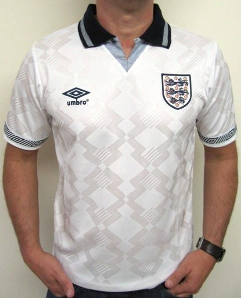 England Italia 1990 Football Shirt Euro2012 Football Shirts England Football Team England Football