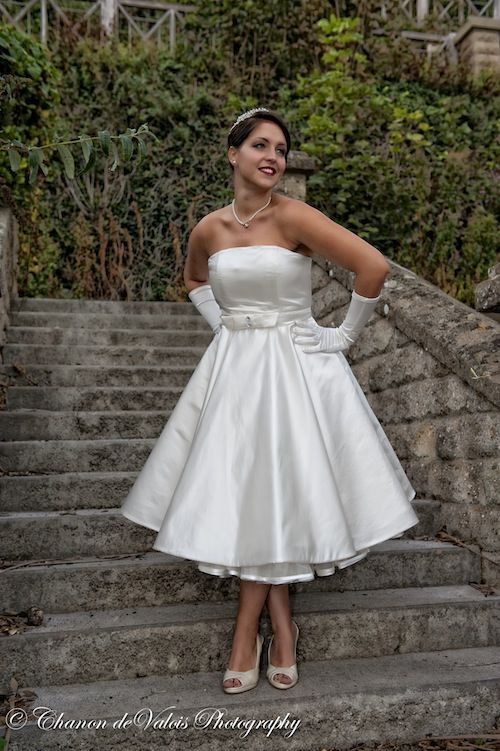not sure I could actually do a short dress but I would try one on to ...