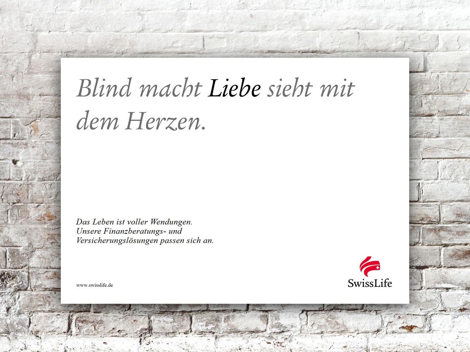 Blind macht LIEBE sieht mit dem Herzen. #wendesatz