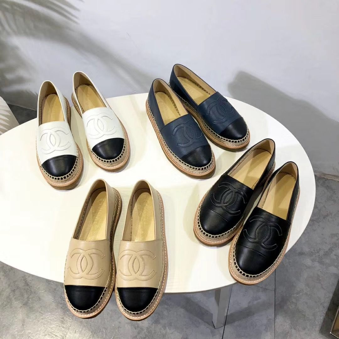 fdc4891b Chanel woman espadrilles flats colors collections | Chanel ...