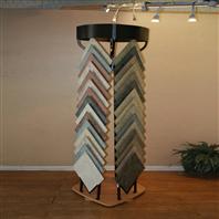 Rotating Ceramic Tile Display Rack Metal Stand Manufacturer