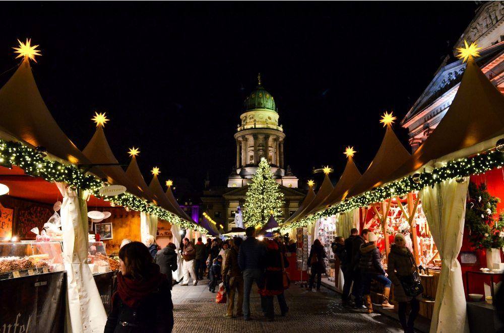 #Berlin Christmas Market, Germany