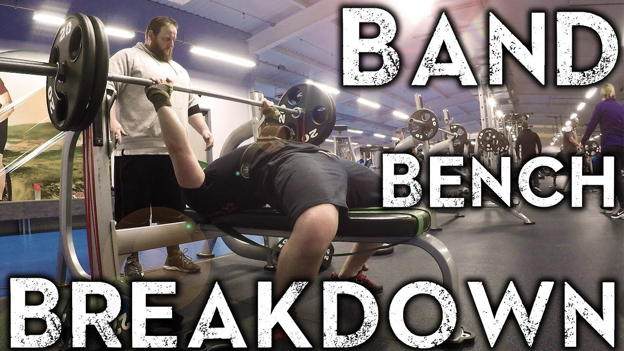 Bench Press With Resistance Bands Conjugate Week 1 Bench Press Powerlifting Deadlift