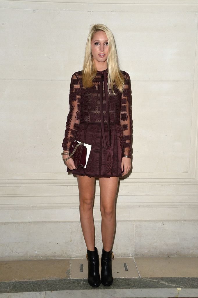 Front Row at Valentino | Celebrity Style | Greece fashion ...