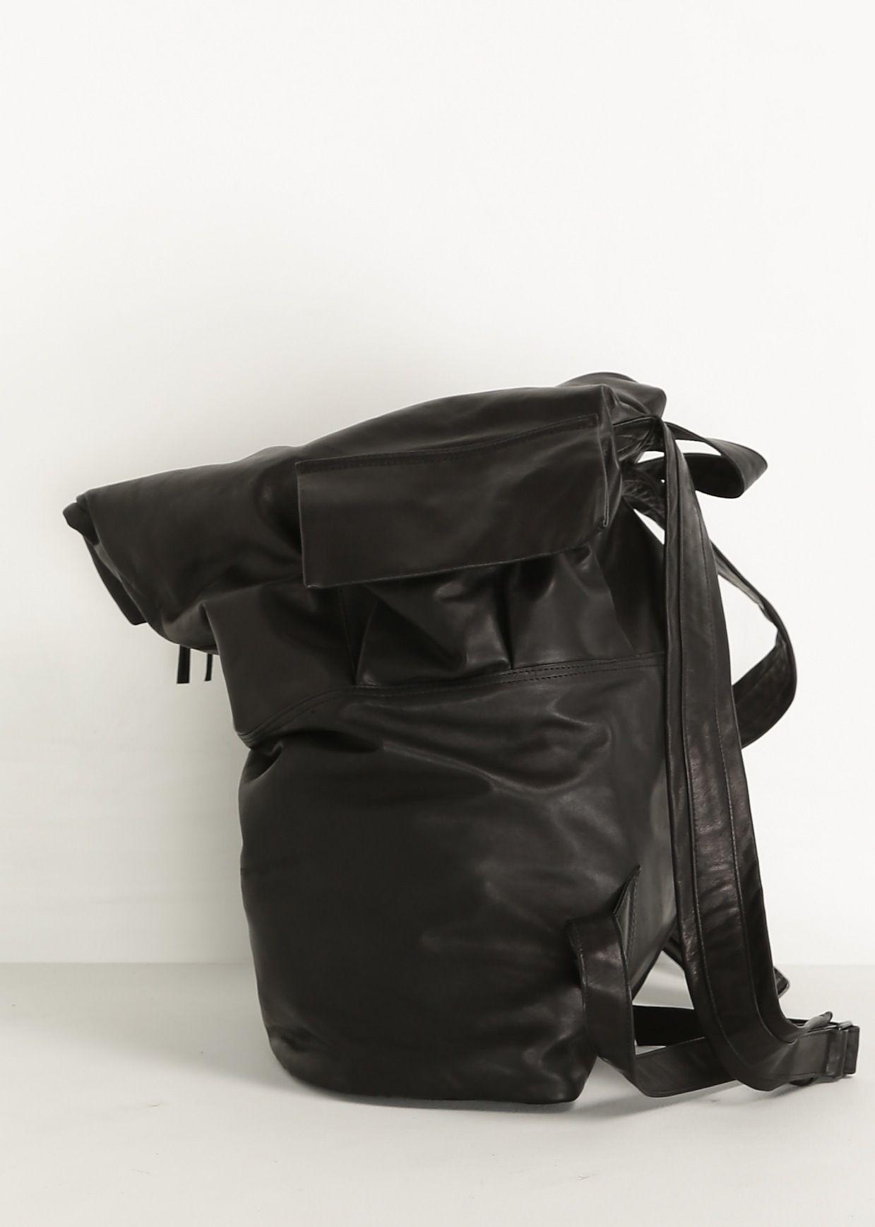 Totokaelo - Yohji Yamamoto Black Backpack