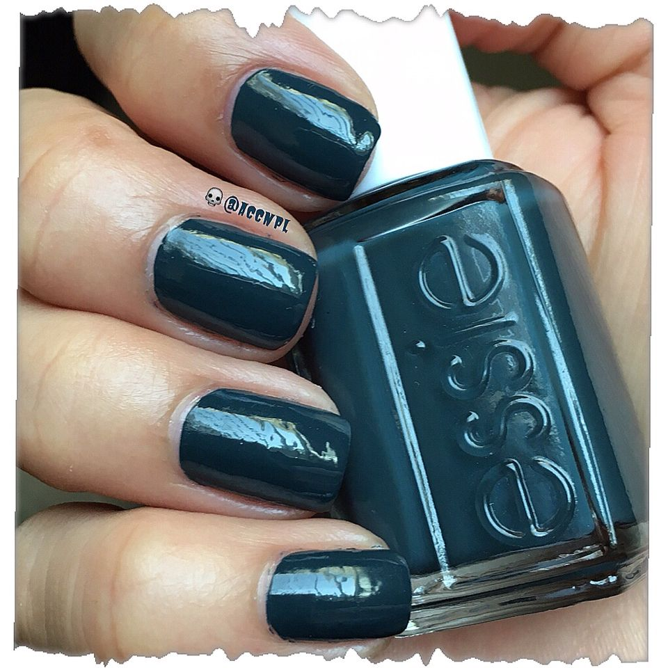 One coat and no top coat of The Perfect Cover Up by Essie. #Essie ...