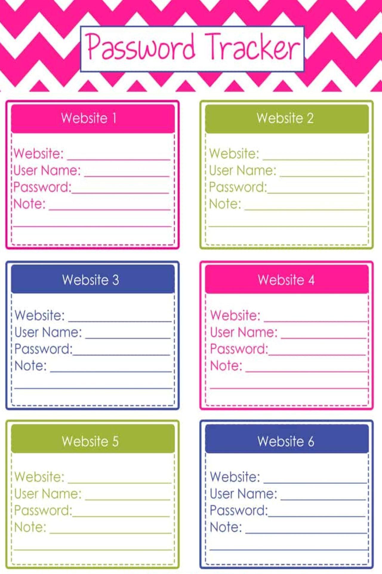 Website Password Logs