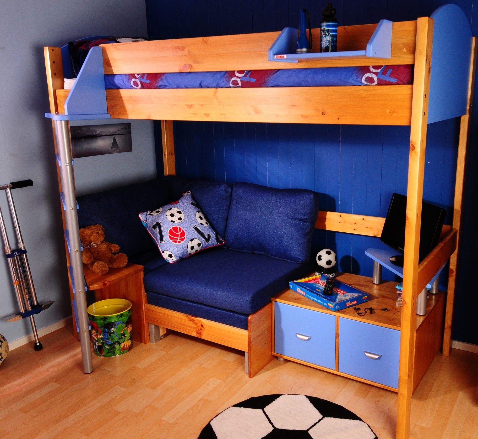Peachy Stompa Casa High Sleeper Bunk Bed Reviews Wayfair Uk Camellatalisay Diy Chair Ideas Camellatalisaycom