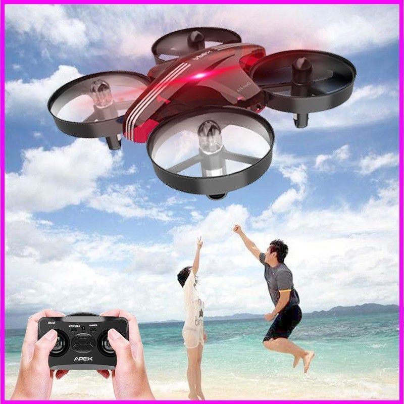 APEX Headless Mode Mini Drone With 2.4 G RC Quadcopter Remote Control  Aircraft D #APEX