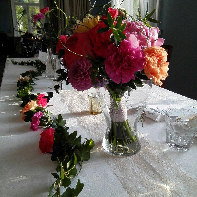 Färgprakt! Väriloistoa! tittis blomstudio-kukkastudio