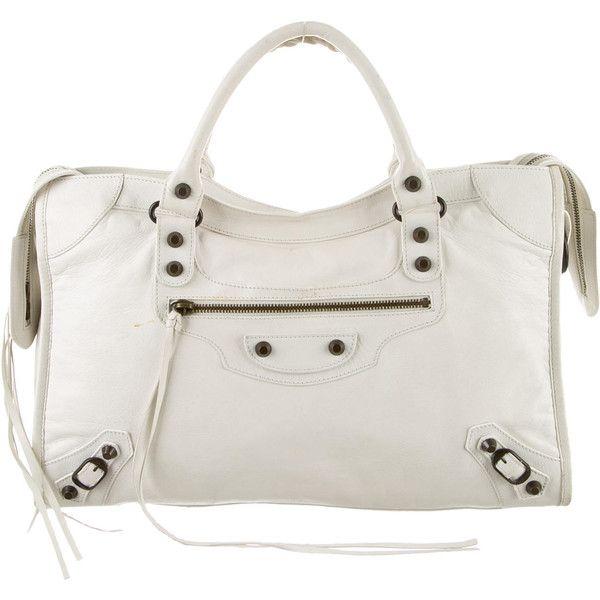 Pre-owned - City leather handbag Balenciaga simAprJ