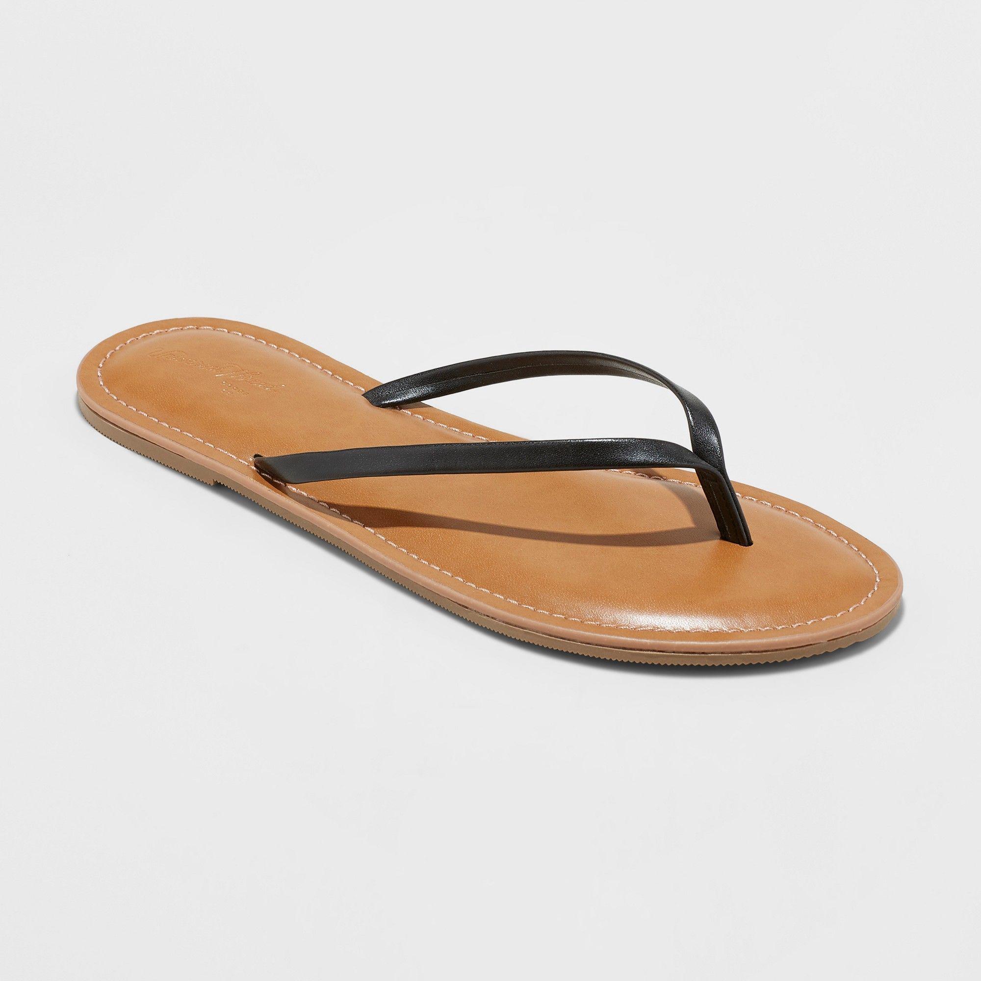 2eb75d901d0 Women s Rowen Flip Flop Sandal - Universal Thread Black 11 ...
