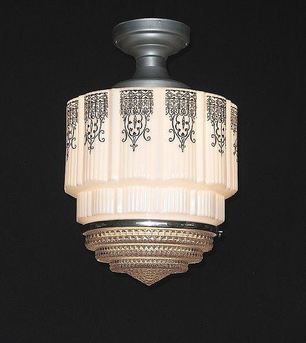 Art Deco Black Design Vintagelights Com Art Deco Lighting Art Deco Lamps Art Deco Furniture