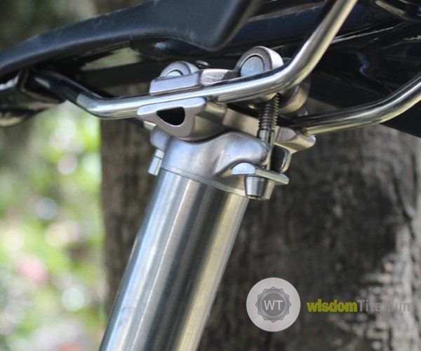 High End Titanium 2 Bolt Bike Seatposts Mtb Buy Titanium Seatpost