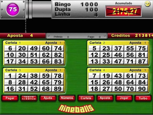 Pin Em Video Bingo