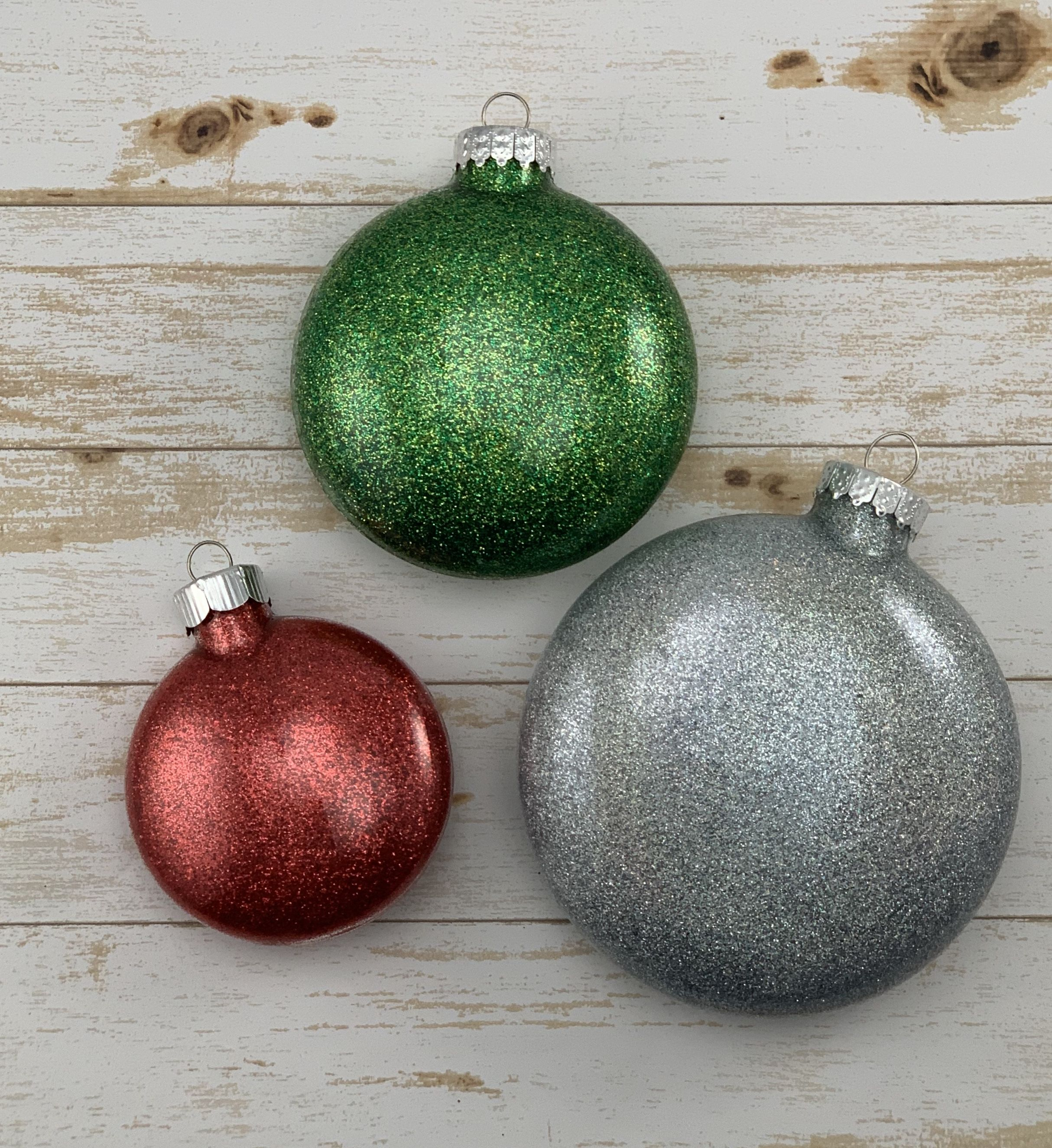 Personalized Christmas Ornament Personalized Christmas Ornaments Glitter Ornaments Christmas Ornaments