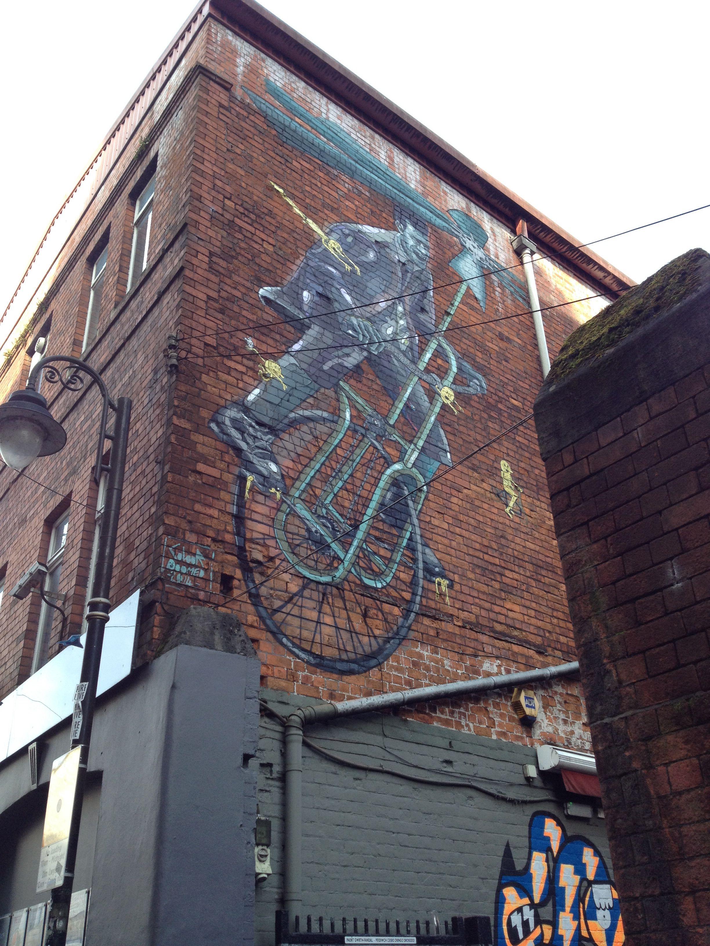 graffiti in cardiff  graffiti street art art