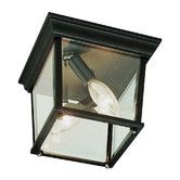 Found it at Wayfair - Outdoor 3 Light Square Flush Mount
