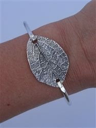 Leaf Bangle | Leaf Jewelry | Miss Chic