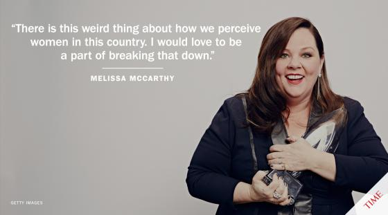 Melissa Mccarthy Said It Best Body Image Quotes Melissa Mccarthy Its Friday Quotes