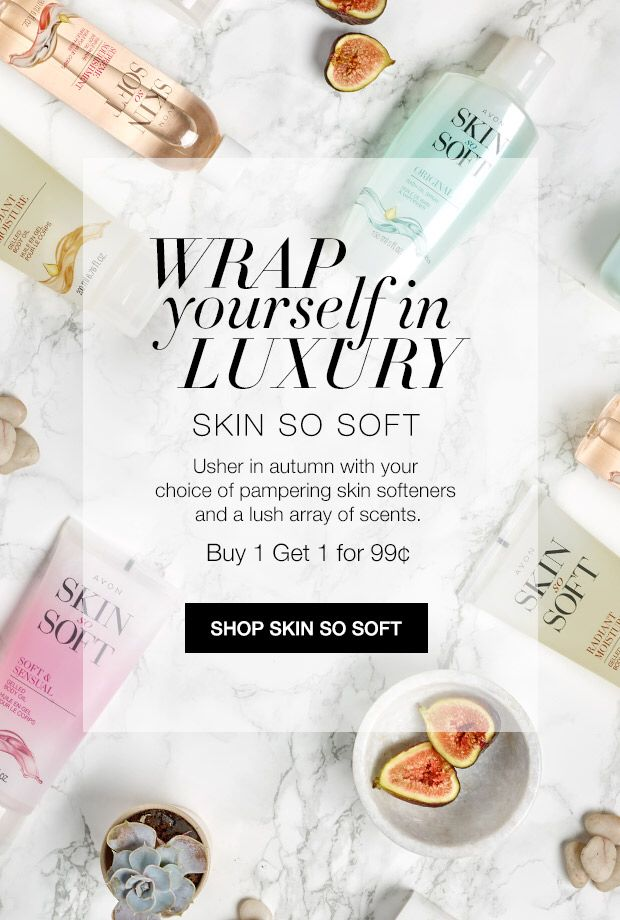 Get ready for #fall with Skin So Soft! 🍃🍂🍁🍃www.youravon.com/morgans