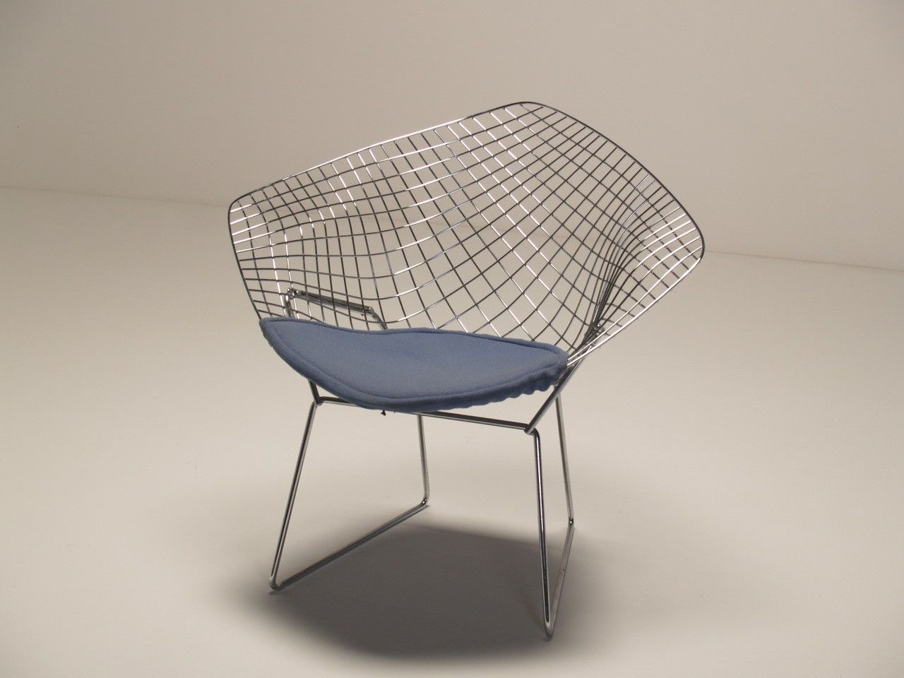 Harry Bertoia   Diamond Chair A Later Reproduction (maker Unknown) Of A  Harry Bertoia Diamond Lounge Chair. The Diamond Chair Was Originally  Designed By ...