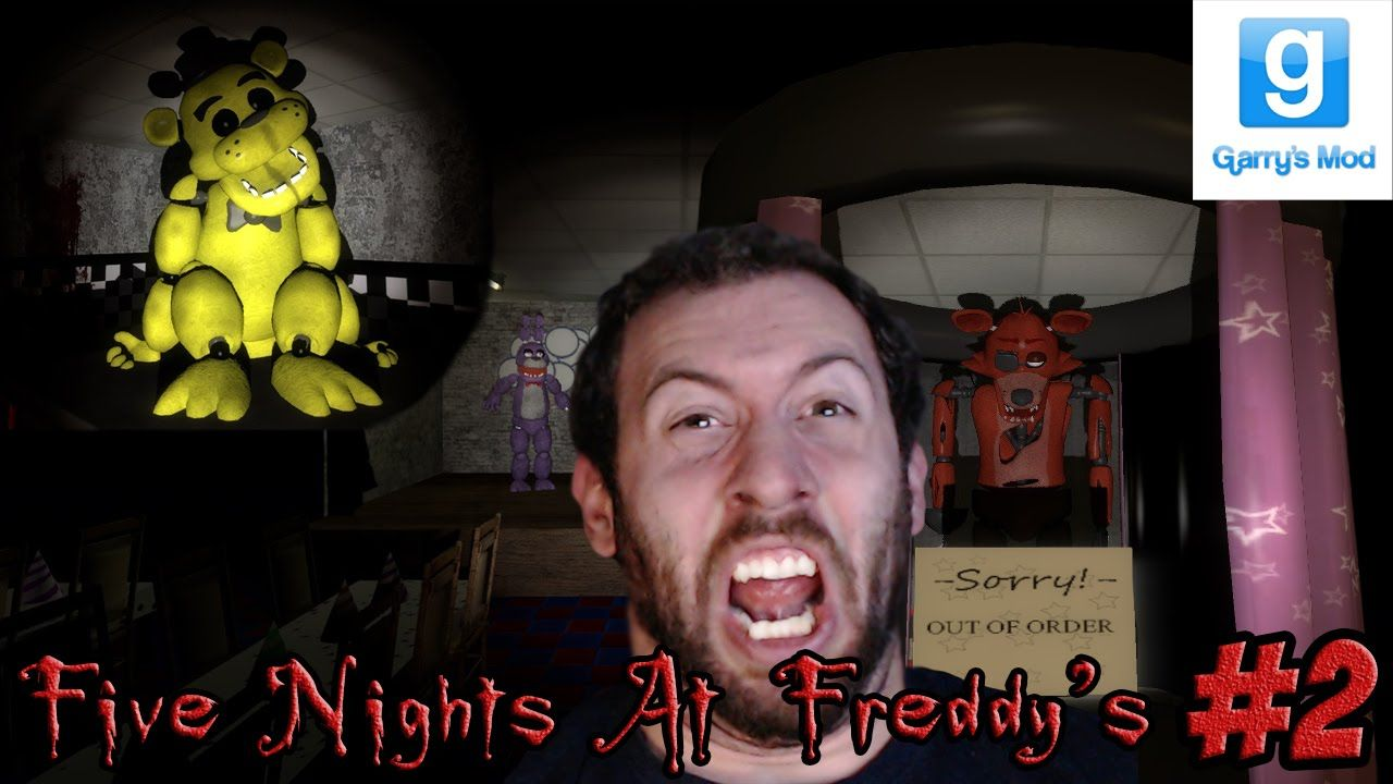 Five Nights at Freddy's GMod Horror Map With Minx Part 2: GOLDEN