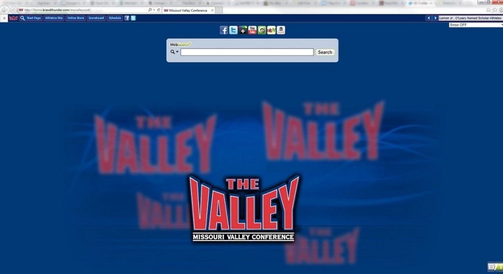 Internet Explorer 11 themes for college conferences