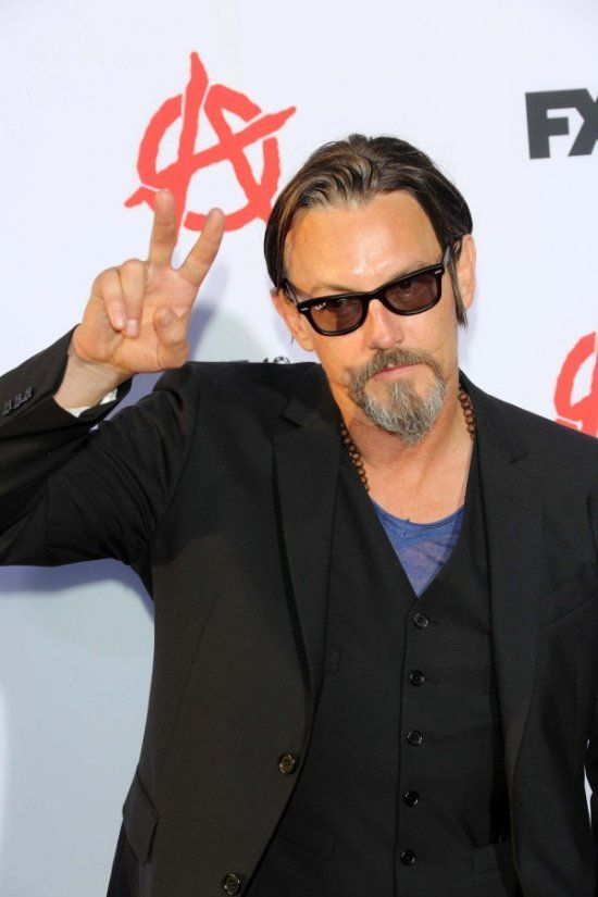 Tommy Flanagan attends the Sons of Anarchy season six premiere screening red carpet event at the Dolby Theatre in Hollywood, California.