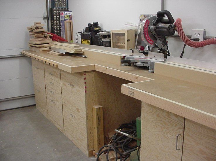 Wood Project Boy, Miter Saw Station Designs, Cheap Balsa ...