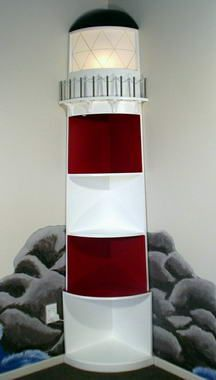 Lighthouse Home Decor On Decorate A Boy S Bedroom Using Furniture With Nautical Flair