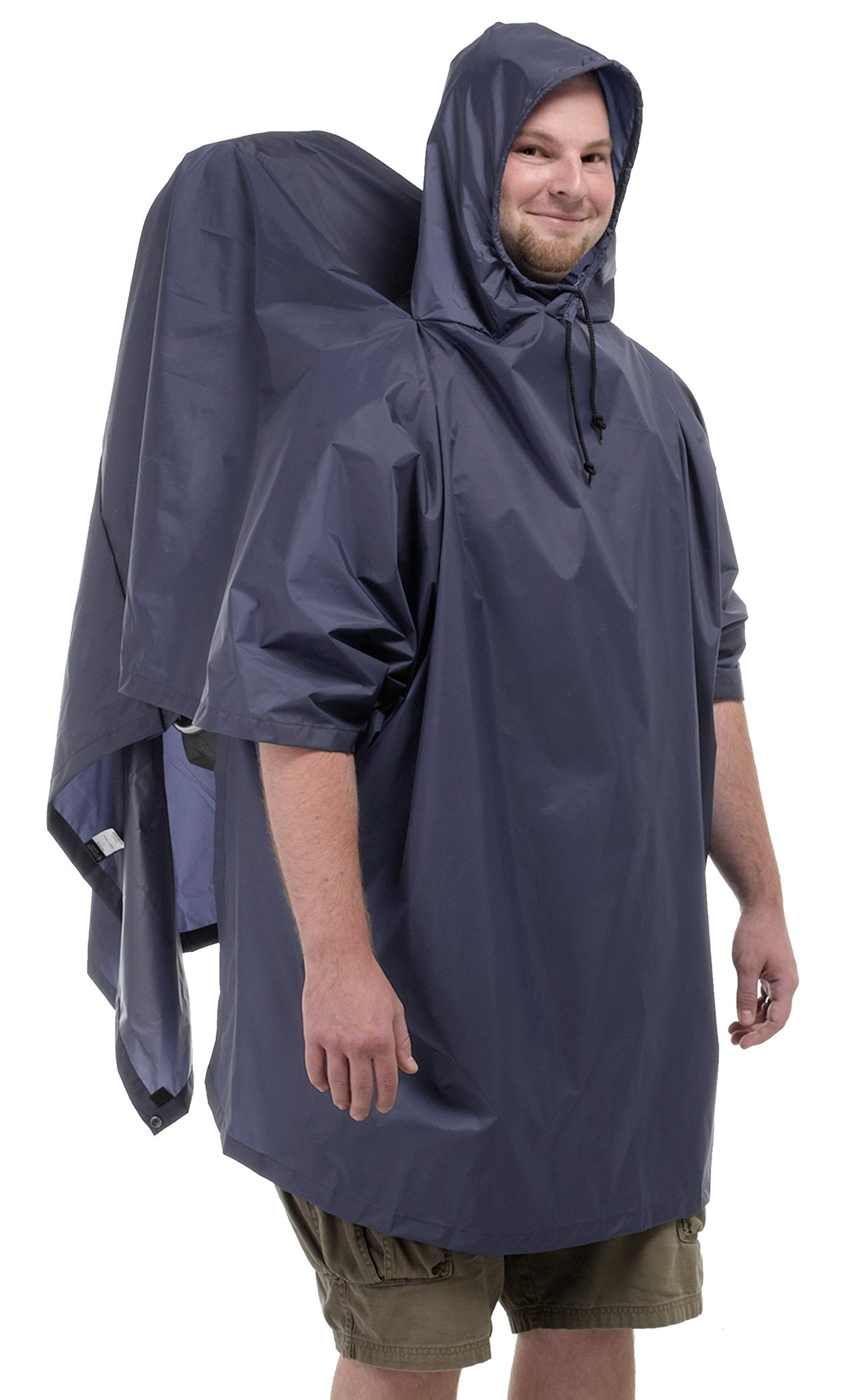 Outdoor Products Packframe Poncho At Rei Com Poncho Rain Gear Men Sleeve Shirt Men