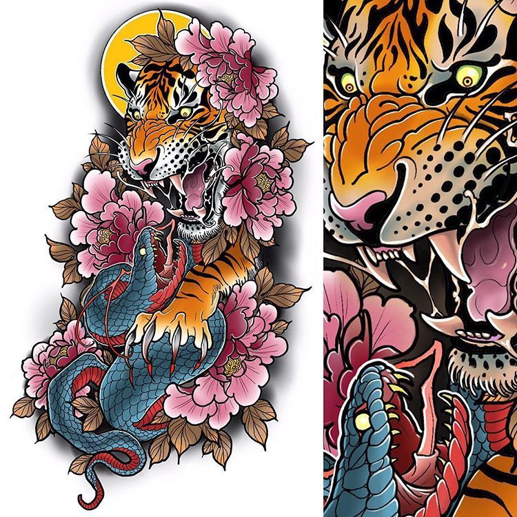 Tattoo Designs Up For Grabs: New Full Sleeve Design Up For Grabs, DM Me For Details