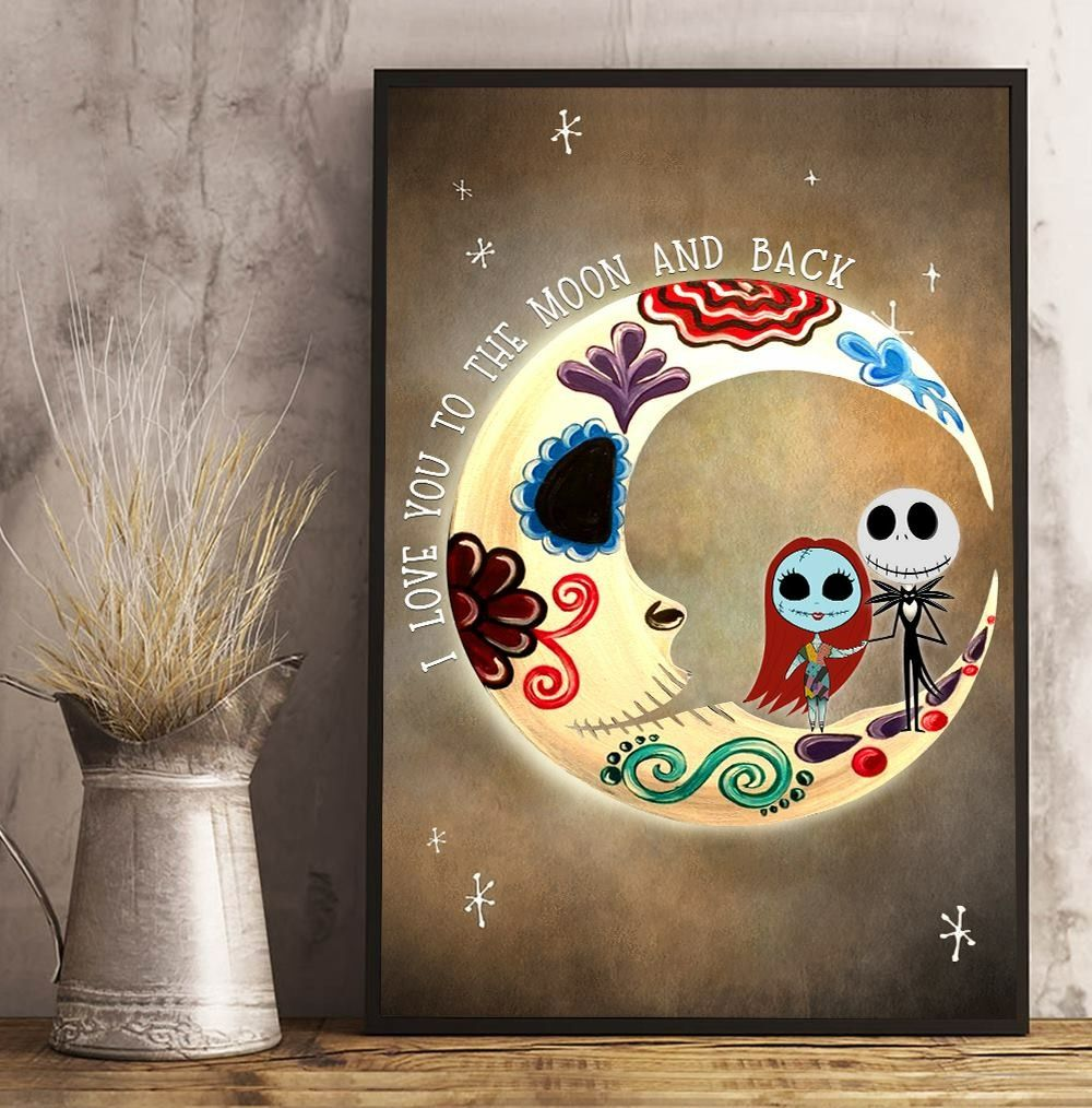 No Frame The Nightmare Before Christmas Poster