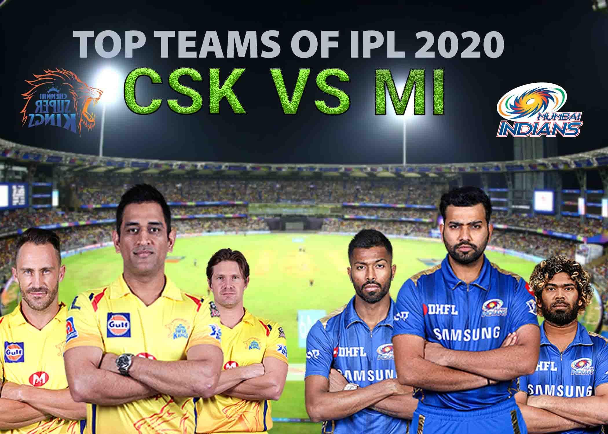 Ipl 2020 Exclusive Csk Vs Mi Team Comparison In Depth Ipl Chennai Super Kings Kolkata Knight Riders