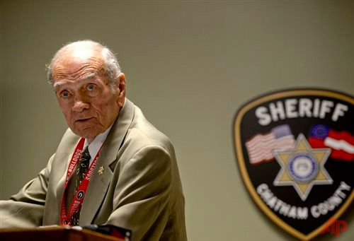 Chatham County Sheriff Al St Lawrence addresses media during a press conference at the Chatham Sheriff's Office on Thursday, June 4, 2015. The press conference was on the use of tasers by officers on inmates in the jail. (Ian Maule/Savannah Morning News via AP) SAVANNAH, Georgia (AP) — A 22-year-old college student found dead in restraints at a Georgia county jail died from several blunt-force injuries to his head and upper body, the coroner who ruled the death a homicide said Thursday…