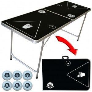 GoPong 6ft. Portable Beer Pong Table