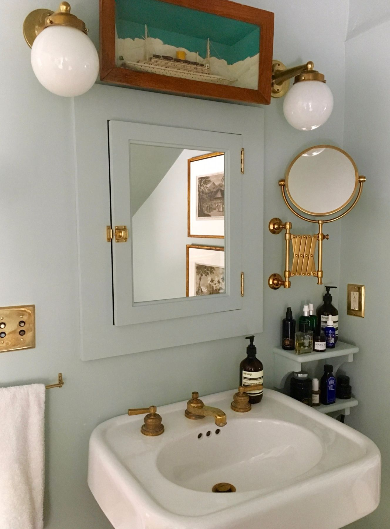 Best Amateur Bathroom: Juliet Feehan's Hudson Vall