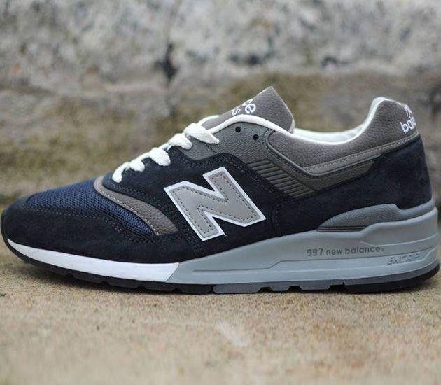 new balance 997 navy grey
