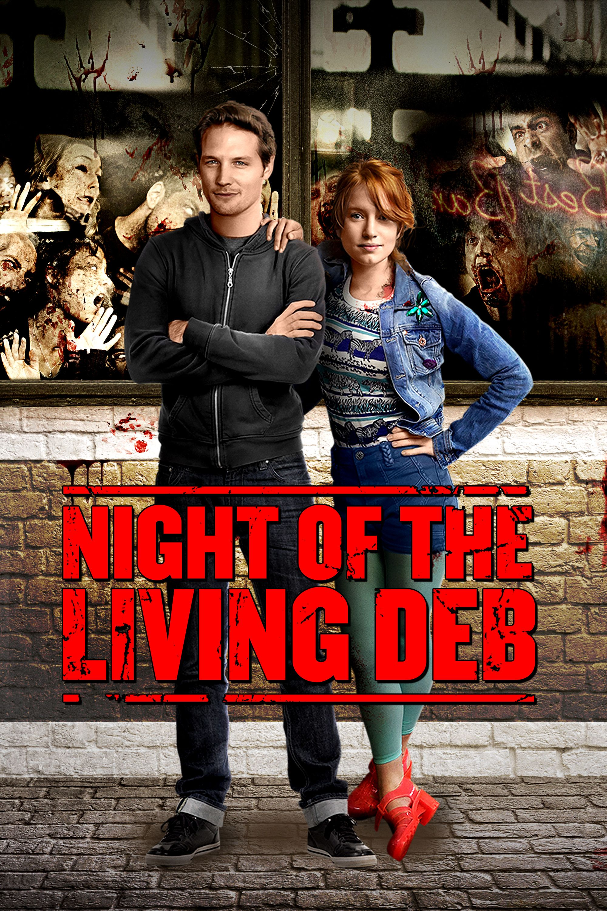 Night Of The Living Deb Movie Poster Maria Thayer Michael Cassidy