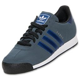 Adidas Men's Casual Shoes Samoa Onix/Blue/Dark Grey