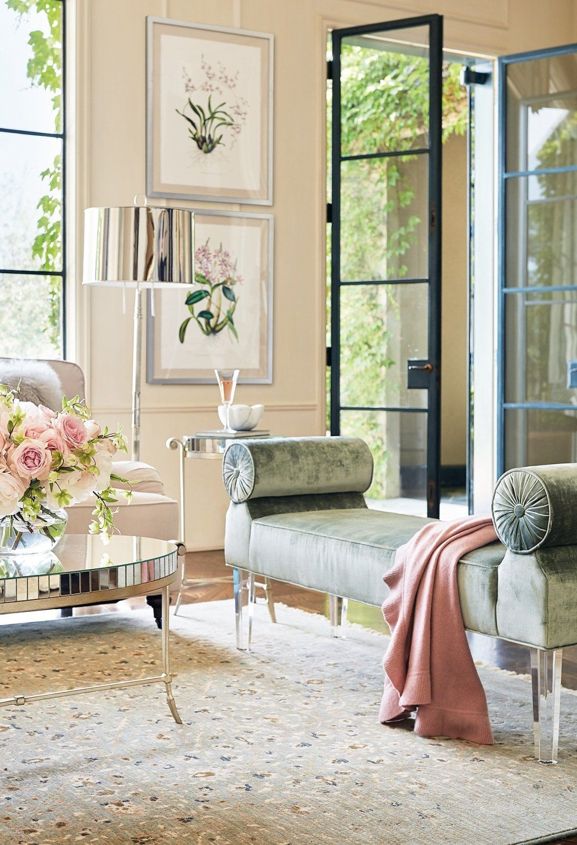 Charlotte Bench Frontgate Beautiful Living Rooms Luxe Living Room Bedroom Furnishings