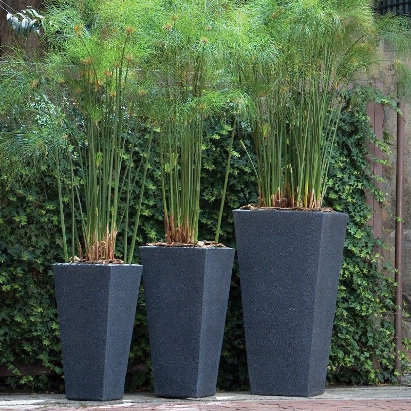 Outdoor Planters And Urns Modern Garden Planters Resin