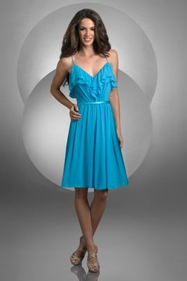 OK so this one is a top choice! And it's only  $129 on bridesmaids.com! LOve the chiffon!