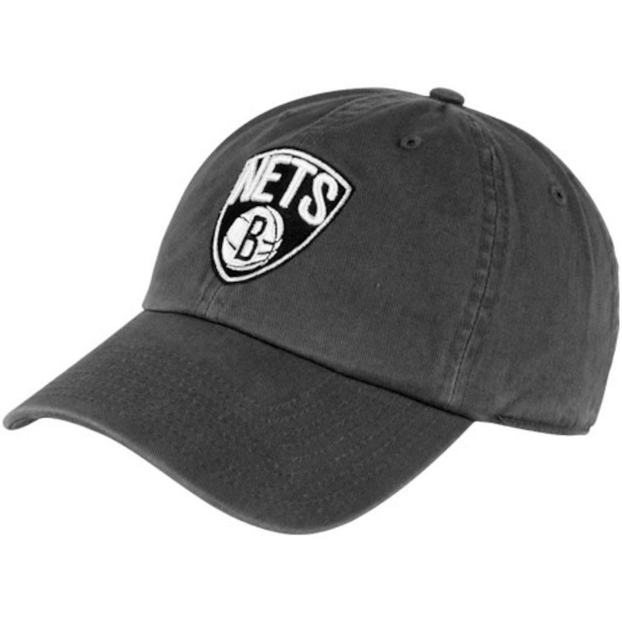 c65b28299639d 372f5 51cac  new zealand 47 brand brooklyn nets cleanup adjustable hat  charcoal sale 9.99 200e7 50614
