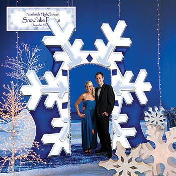 Winter Wonderland Theme Party Decorations