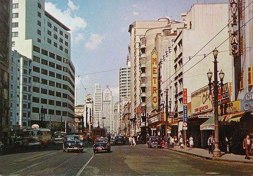 Sao Paulo in the 40s, 50s & 60s.: Cine Metro