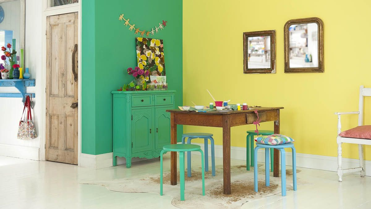 Dining room | Rooms | Dulux #letscolour | Lets Colour - MADE.COM ...